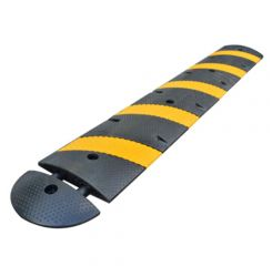 6' Economy Recycled Rubber Heavy Duty Speed Bump